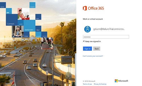Outlook Office 365 Sign In